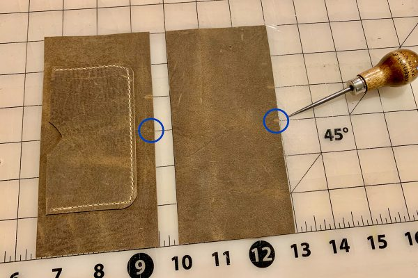 Leather Field Notes Cover Notches 2