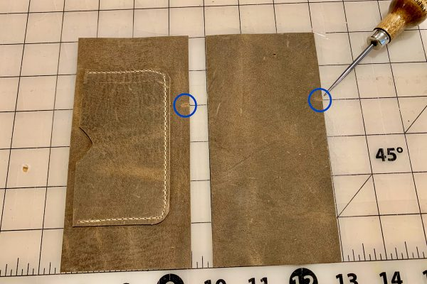 Leather Field Notes Cover Notches