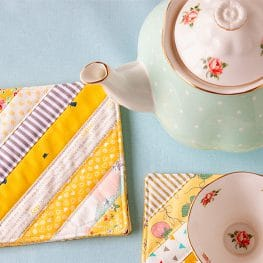 National Tea Month Tutorials from WeAllSew