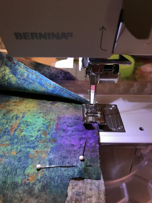 Stitching on Pocket