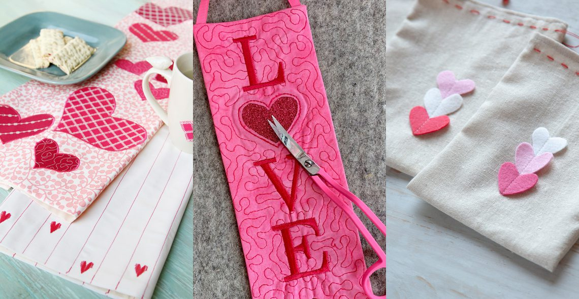 Valentines Day Projects from WeAllSew