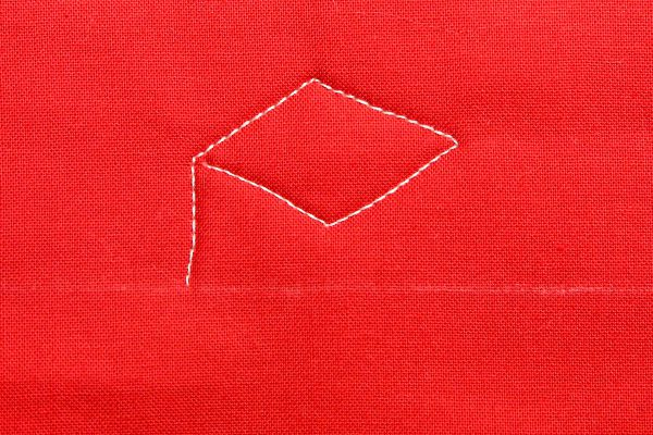 How to free-motion quilt a love letter: step eleven