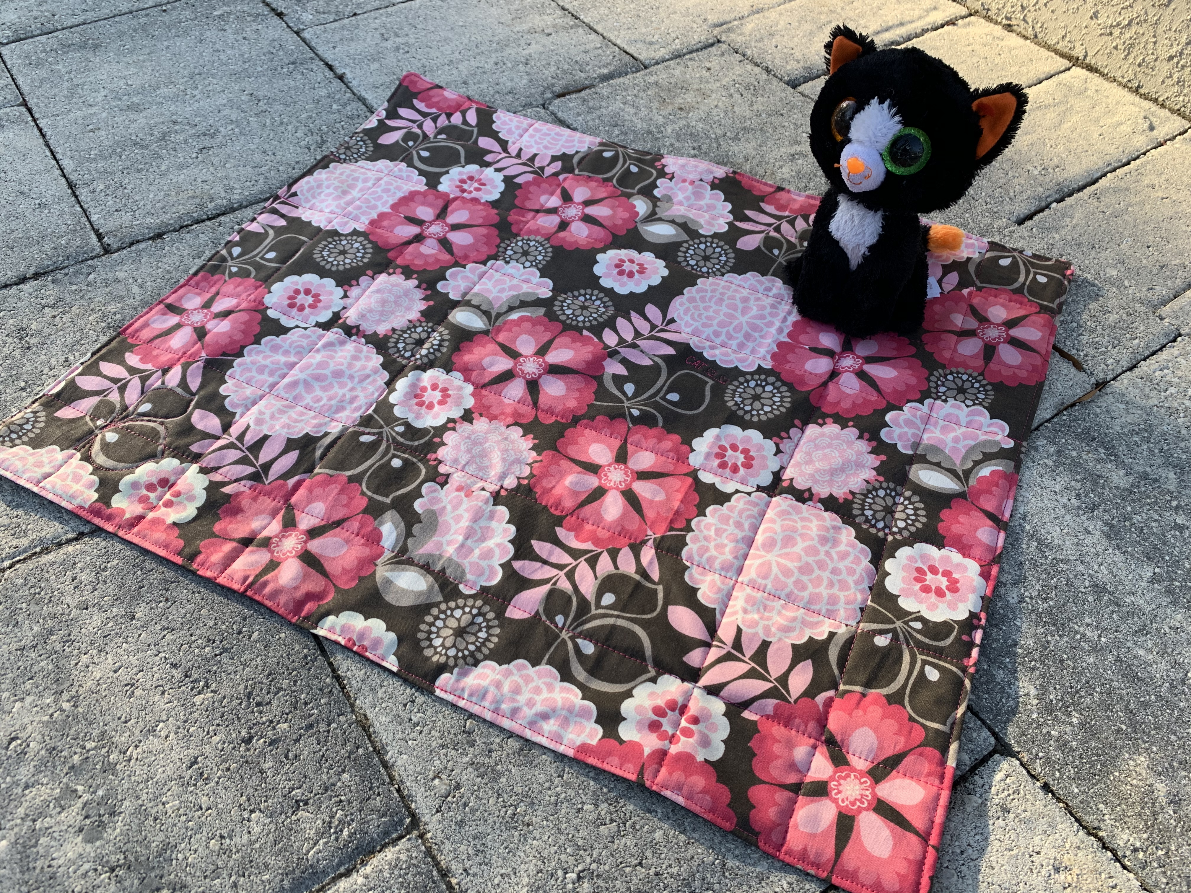 Sew to Serve Kitty Quilt