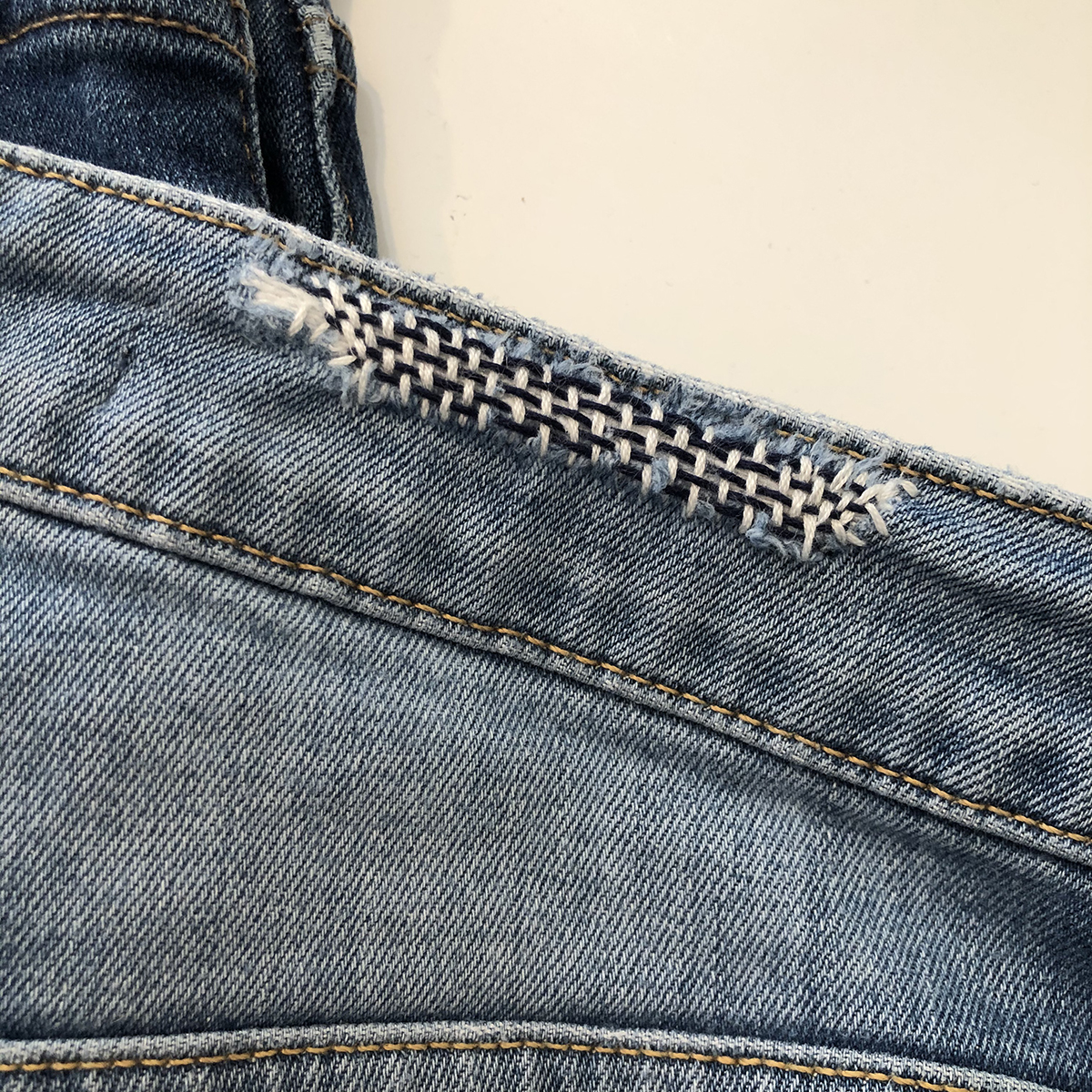 Jeans Tips Mending Darning Patching And Repair Weallsew
