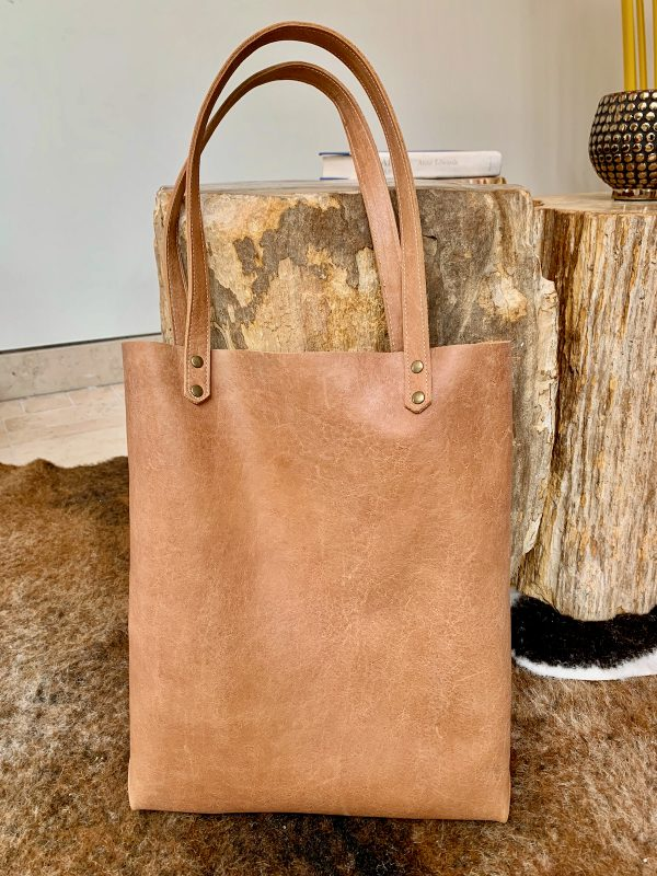 Leather Tote Bag 3