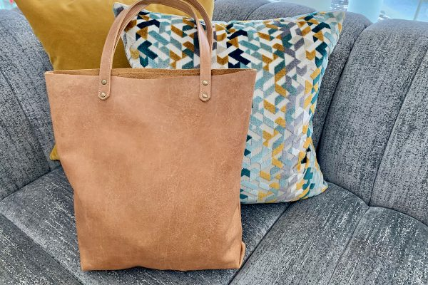 Leather Tote Bag 4