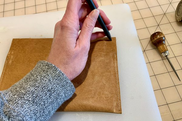 Leather Tote Bag Assembly