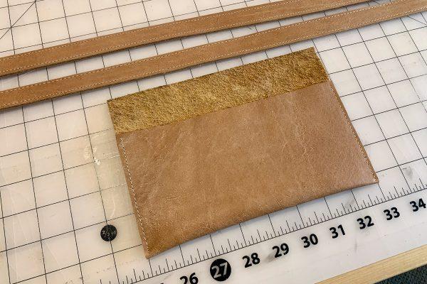 Leather Tote Bag Pocket4