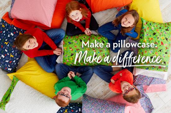 Sew to Serve 1 Million Pillowcase Challenge at WeAllSew