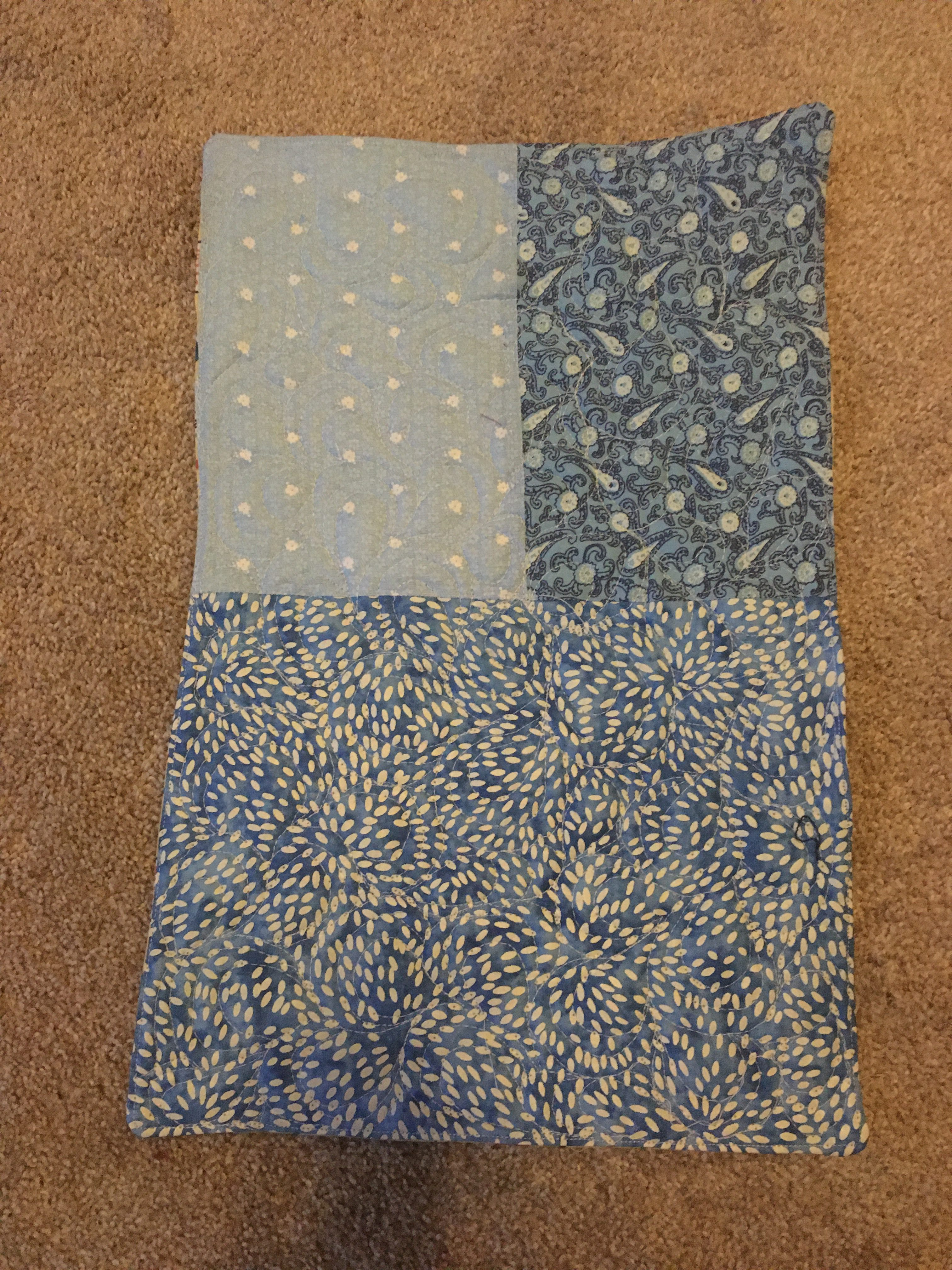 FMQ Practice – I mean…. Kennel Quilt!