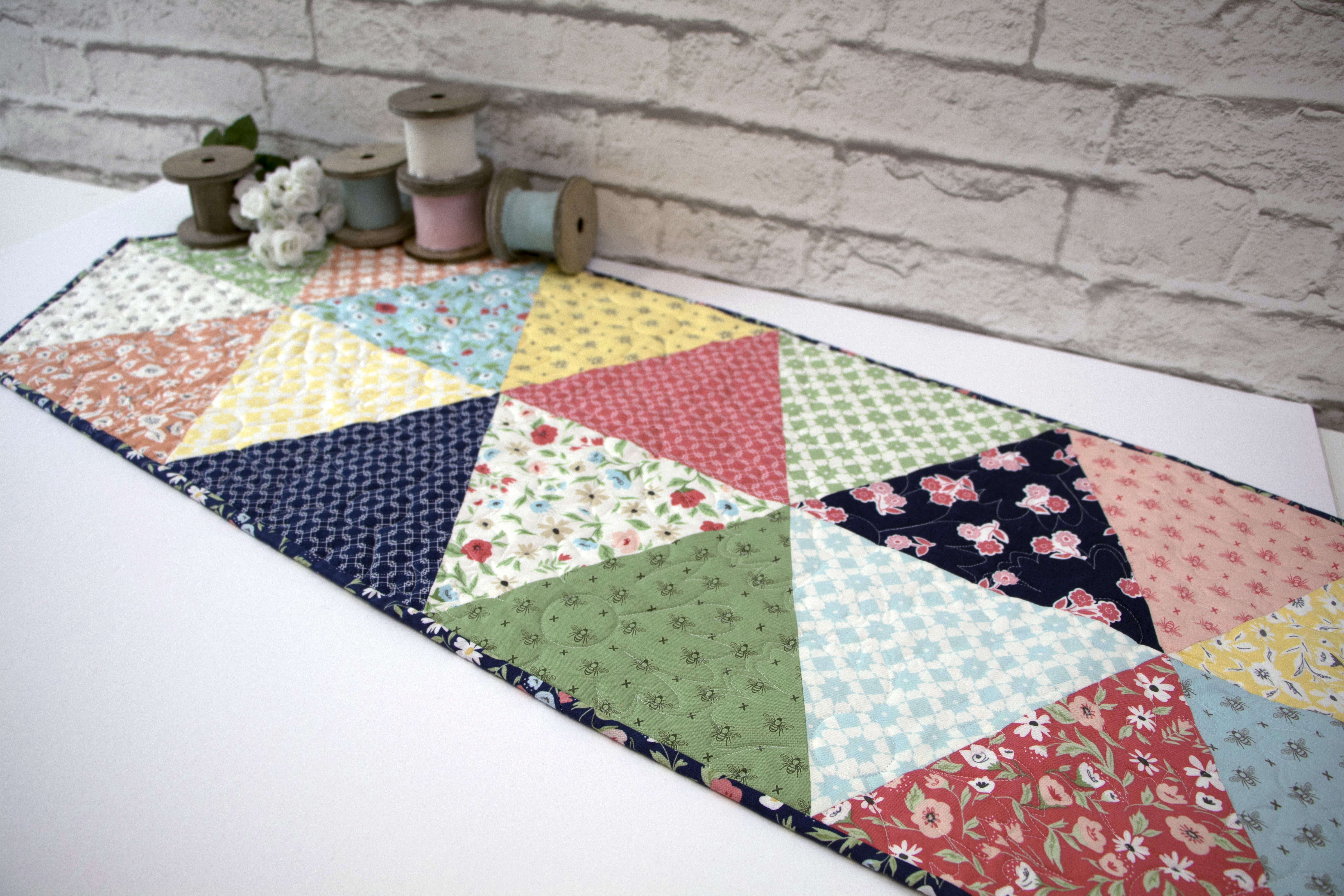 Equilateral Triangle Table Runner