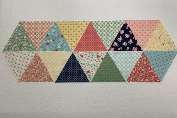 Equilateral Triangle Table Runner_Layout