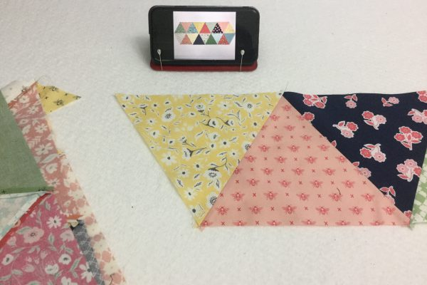 Equilateral Triangle Table Runner_Reference image