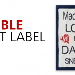 Fusible Quilt Label tutorial