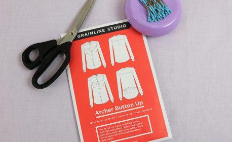 Garment Sew-along Part II Pattern cutting and marking