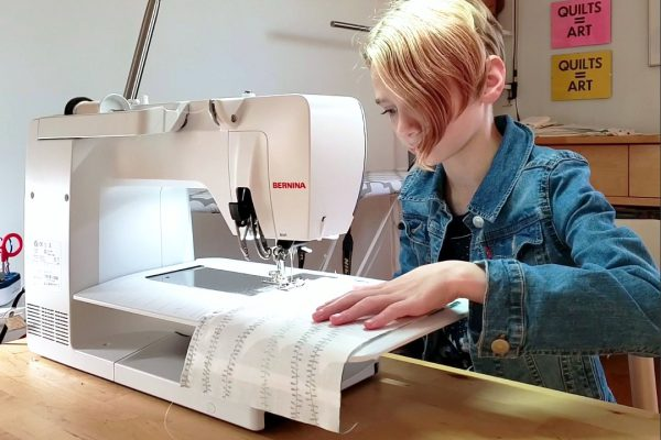 Teach kids how to quilt with WeAllSew