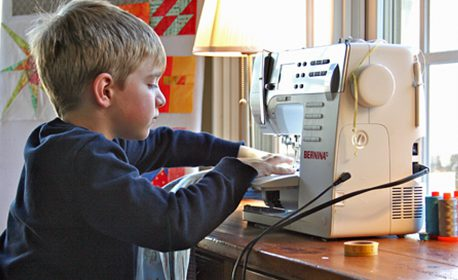 Sewing with Kids at WeAllSew