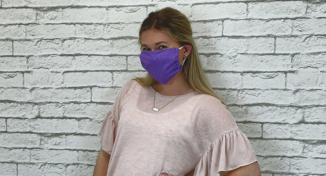 5-Minute Mask with an Overlocker