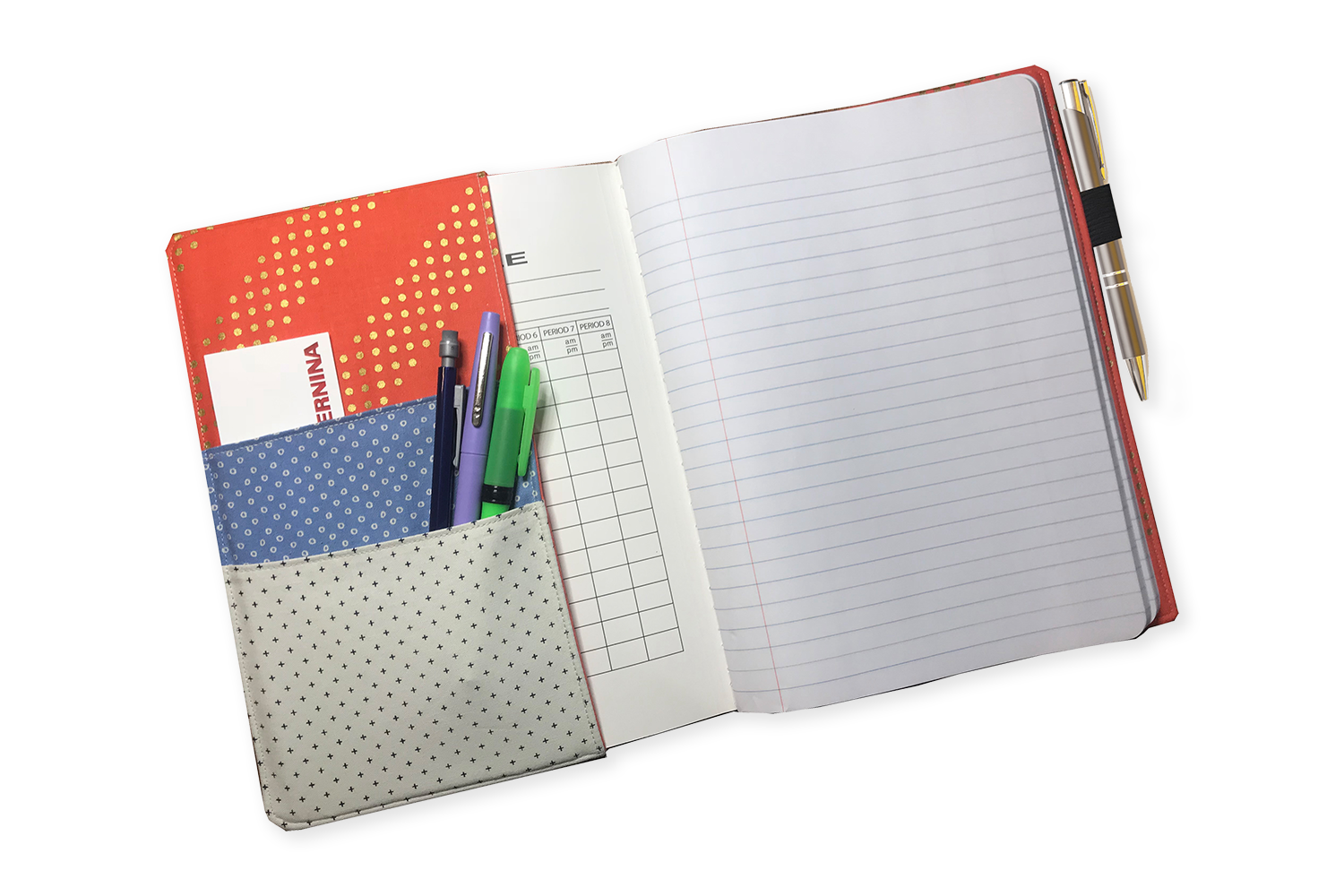 Composition Notebook Cover -inside