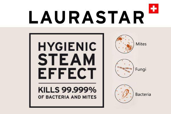 Laurstar Hygienic Steam Effect