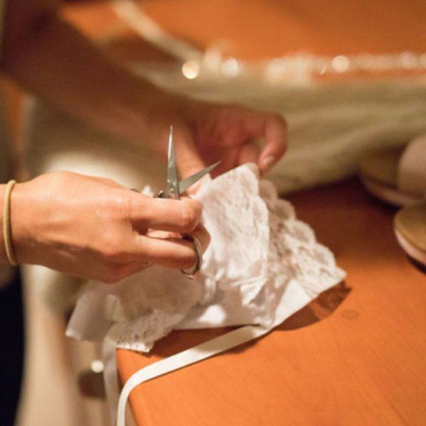 Christening Bonnet Tutorial: Bonnet to Handkerchief