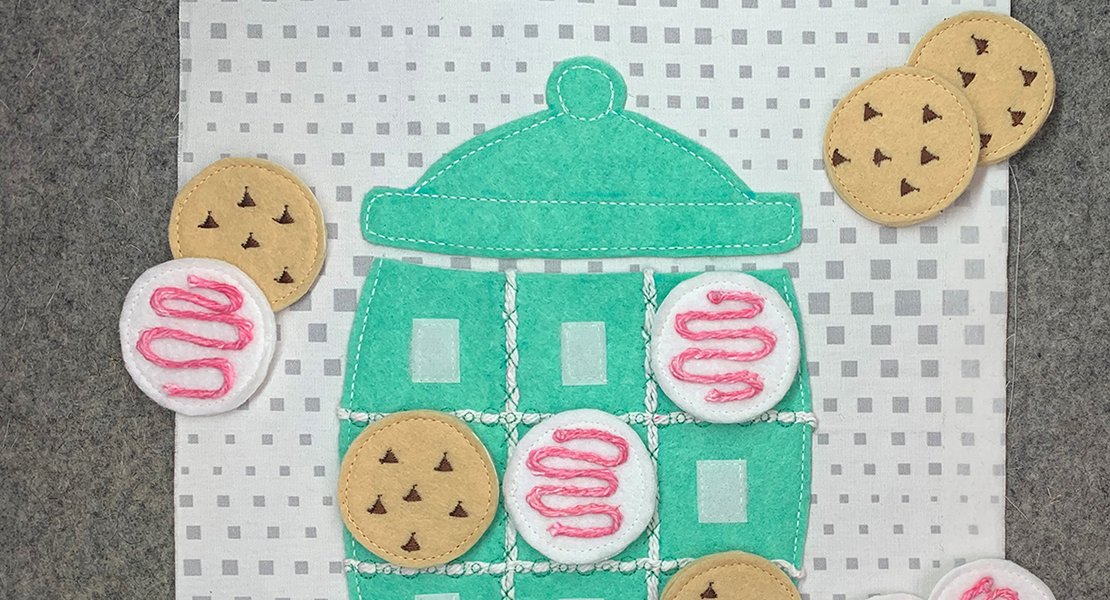 Kids Busy Book Part 4 Cookie Jar