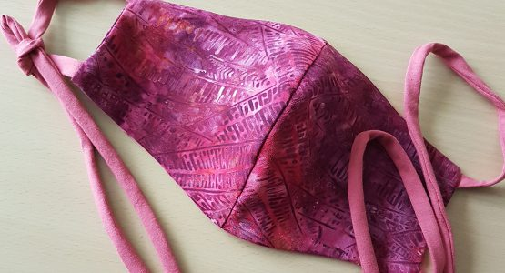 Mask Sewing Tutorial with an Overlocker