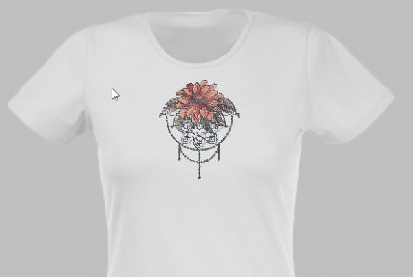 Transferring_Designs_embellish_ shirt