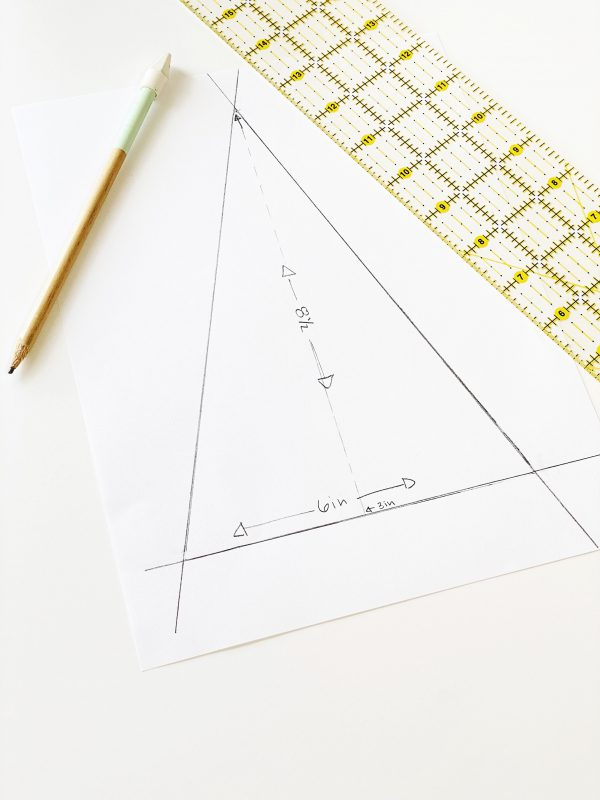 Quick 10 Minute Bunting: Pattern Making