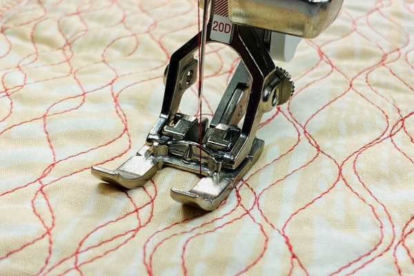 Stitching with Open Embroidery Foot #20D