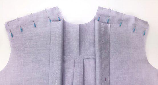 Garment Sew-along Front Yokes Seams