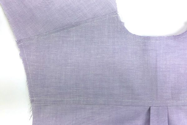 Garment_Sew_Along_Post_#4_Yoke_Topstitched