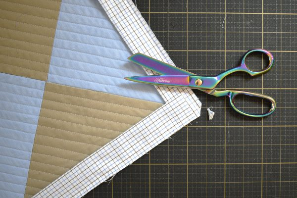 How to make a memory quilt: quilting and binding