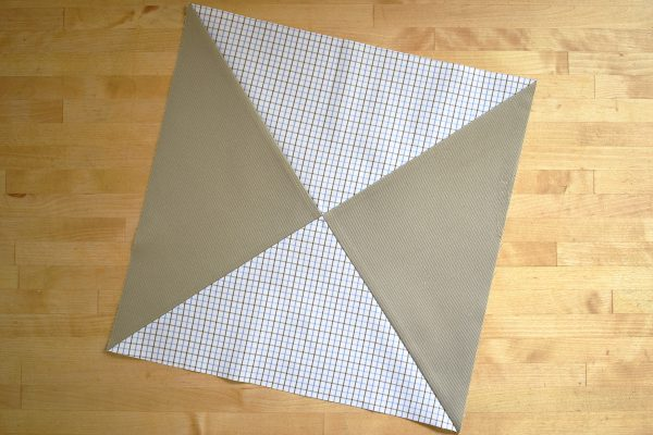 How to make a memory quilt: cutting and piecing