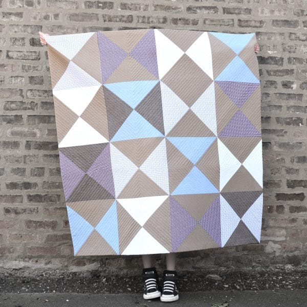 How to make a memory quilt: preparing the materials
