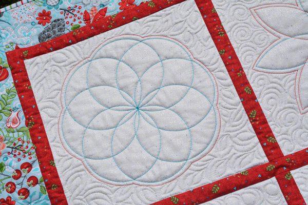 BERNINA Blossoms Rulerwork Sampler Series