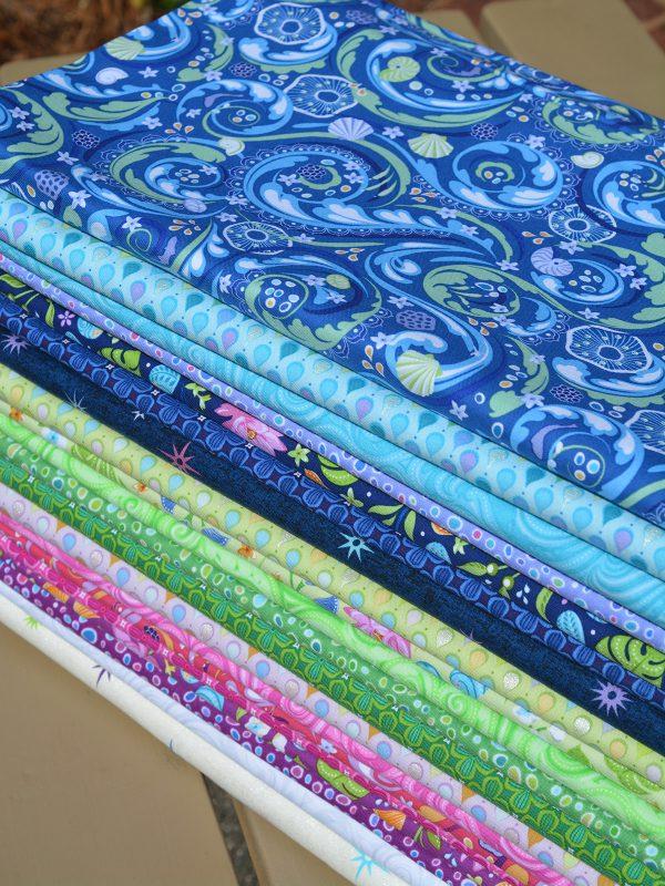 Crescendo line of fabrics for Contempo of Benartex