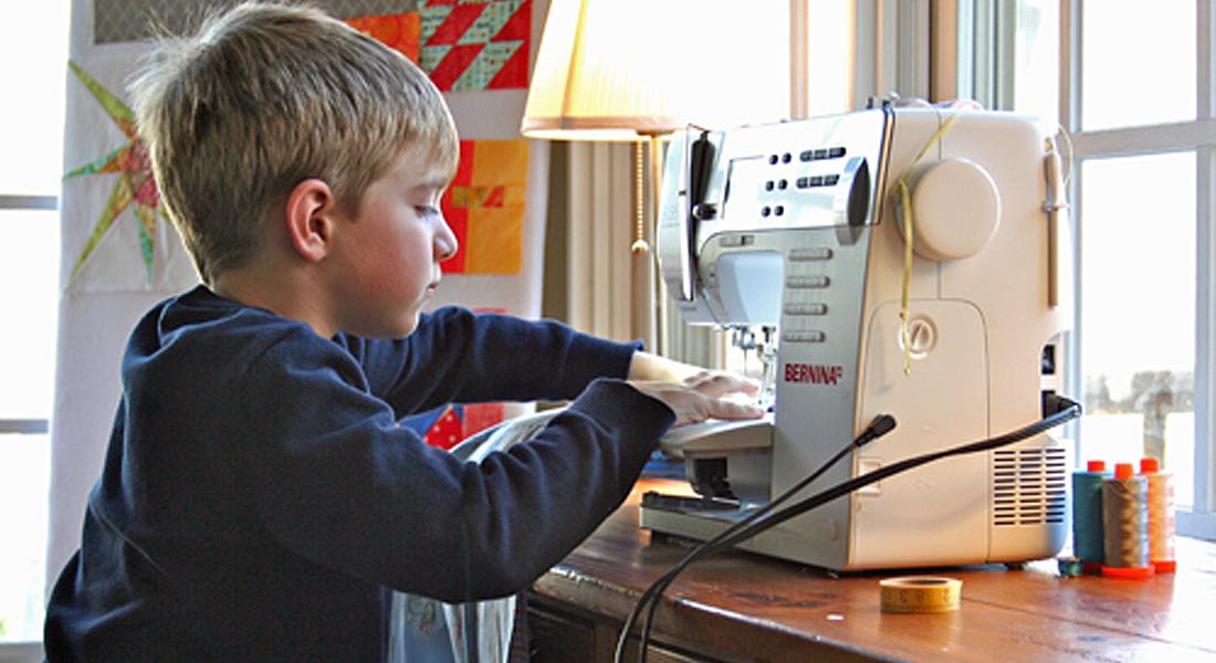 Celebrate National Keep Kids Creative Week With WeAllSew