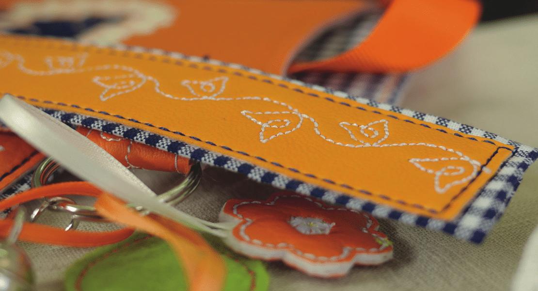 directional stitch pattern