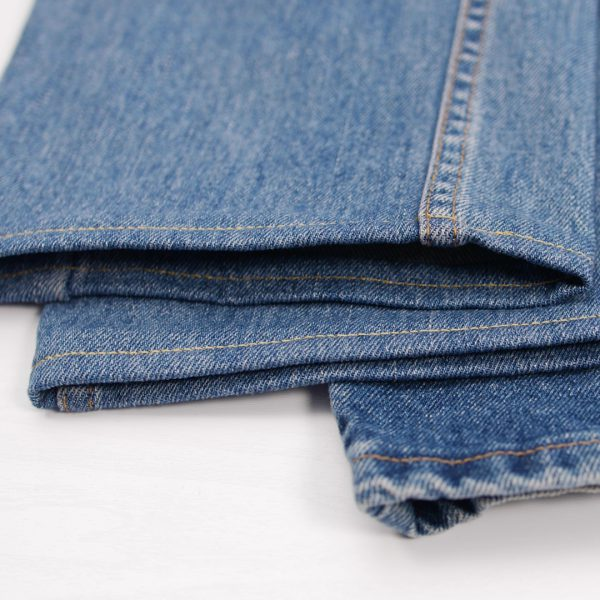 How to easily hem Jeans - finished hems