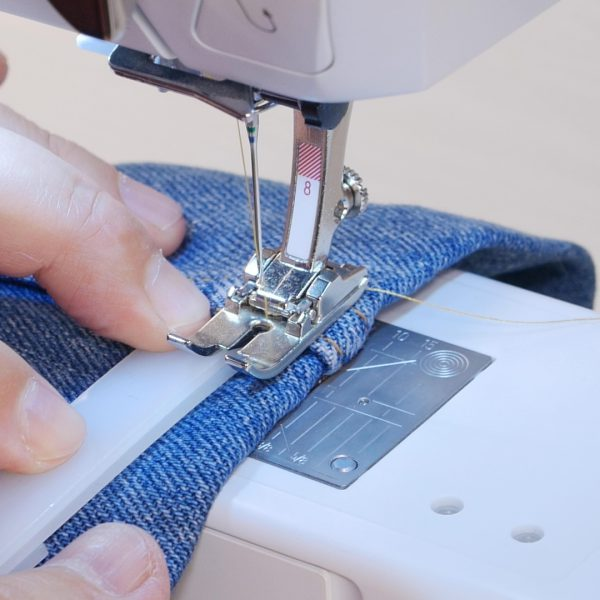 How to easily hem Jeans - height compensation tool front