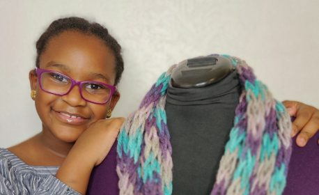 Paris Green featured during National Sewing Month by BERNINA
