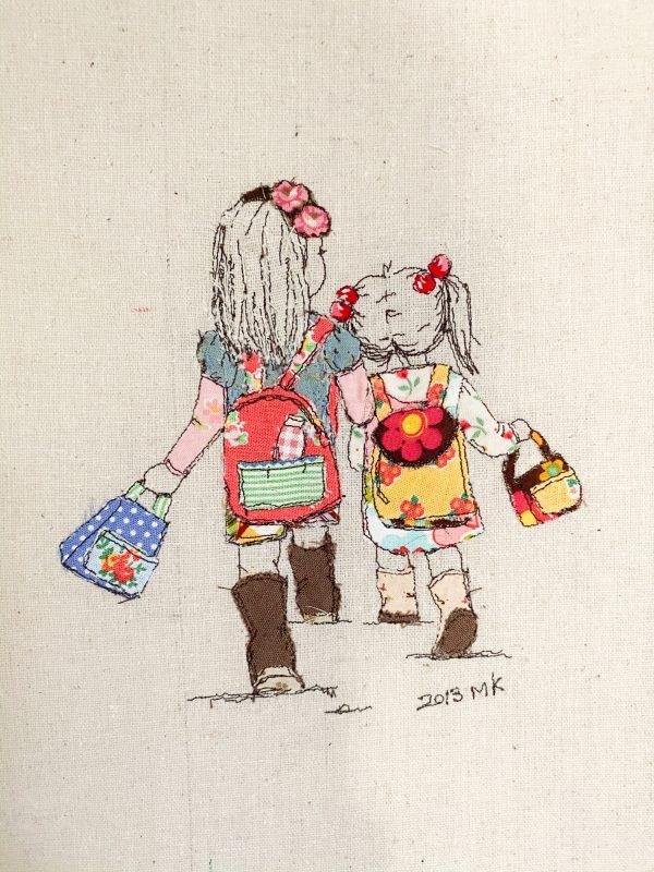 minki kim sewing illustration