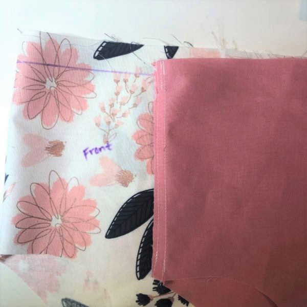 Reversible Bloomer Tutorial: combine the two bloomers
