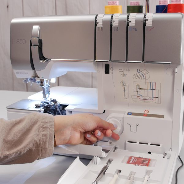 NEW BERNINA Airthreading Sergers: Will it Thread?