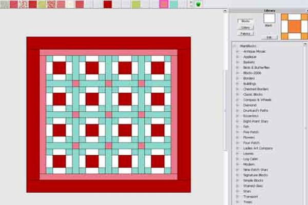 Quilter screen