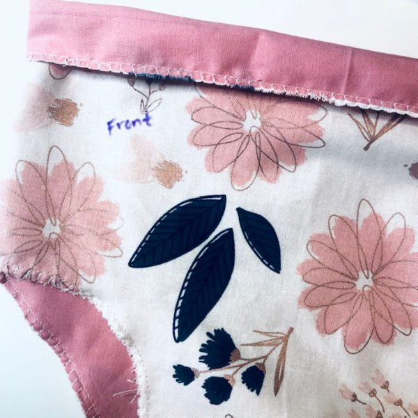 Reversible Bloomer Tutorial: choose which side will show contrasting fabric