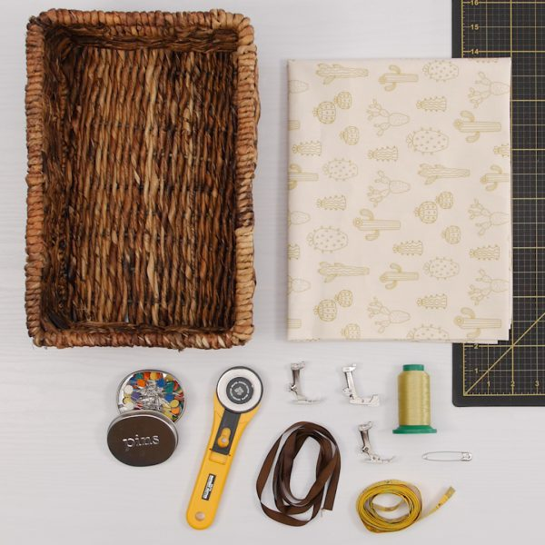 How to create a Basket Liner_Supplies