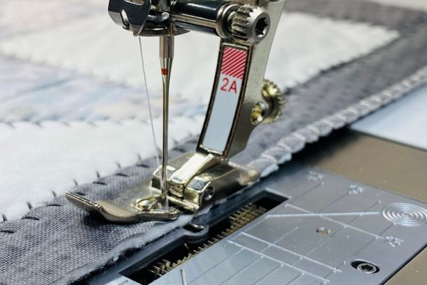 finishing a quilt edge