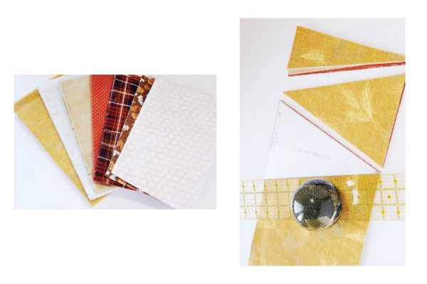 Quick 10 Minute Bunting: Pick & Cut Fabric